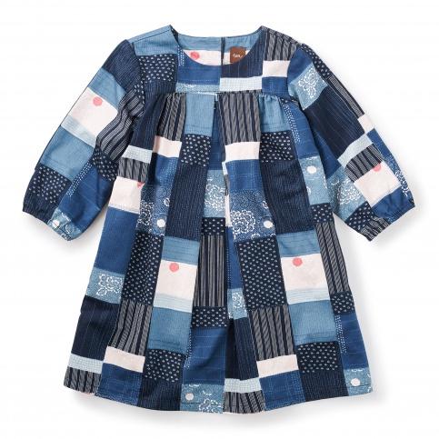 Boro Sateen Dress