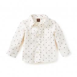 Kazuki Button-Down Baby Shirt