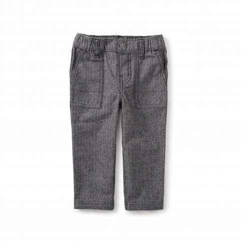 Herringbone Baby Dress Pants
