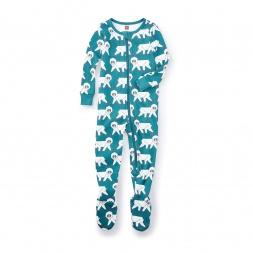 Snow Monkey Footed Pajamas