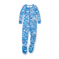 Japan Footed Pajamas