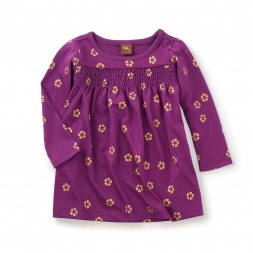 Uzu-uzu Smocked Dress