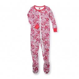 Ikebana Footed Pajamas