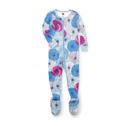 Parasoru Footed Pajamas