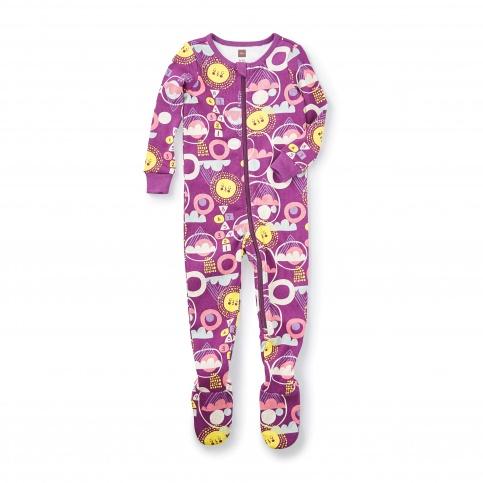 Kirameki Footed Pajamas