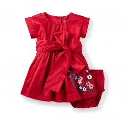 Akira Embroidered Baby Dress