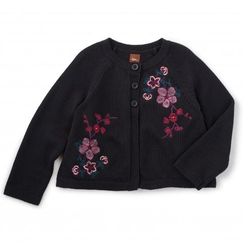 Wago Embroidered Cardigan
