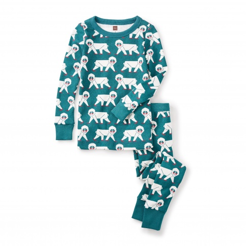 Snow Monkey Pajamas
