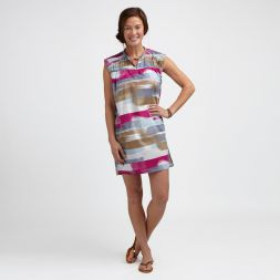 Painterly Striped Tunic
