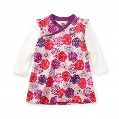 Nara Wrap Neck Baby Dress