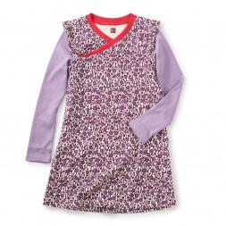Adachi Wrap Neck Dress
