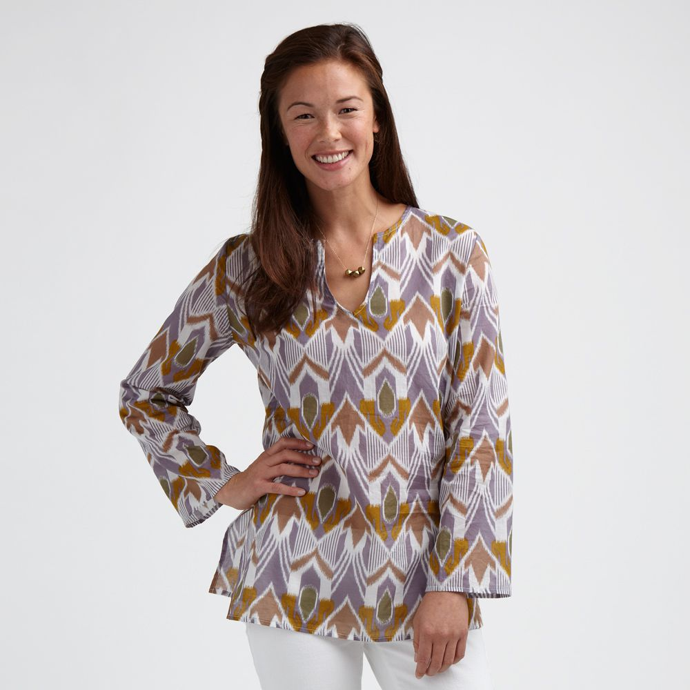 Tea Collection Artisan Ikat Tunic