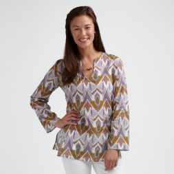 Tea Collection Artisan Ikat Tunic
