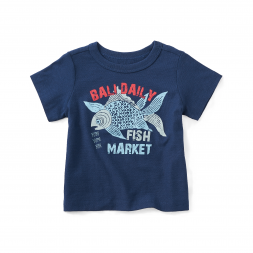 Fish Market Graphic Tee
