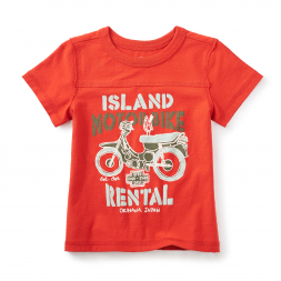 Bali Bike Graphic Tee