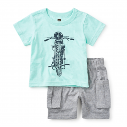Throttle Baby Outfit