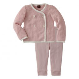 Tea Collection Chinese Jacket And Pant Set