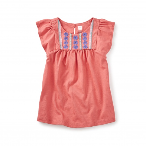 Sydney Embroidered Baby Dress