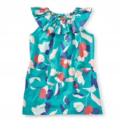 Evie Ruffle Neck Dress
