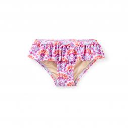 Sea Fan Ruffled Bikini Bottom