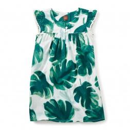 Palm Flutter Dress