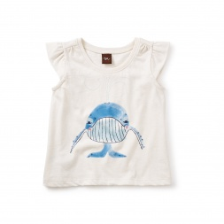 Blue Whale Graphic Tee