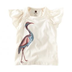 Tea Collection Egret Batik Tee