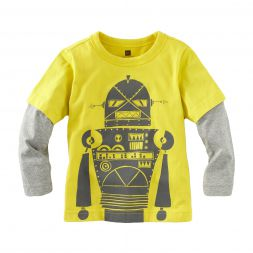 Tea Collection Bjorn-bot Layered Tee