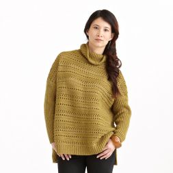 Skovda Sparkle Oversized Turtleneck