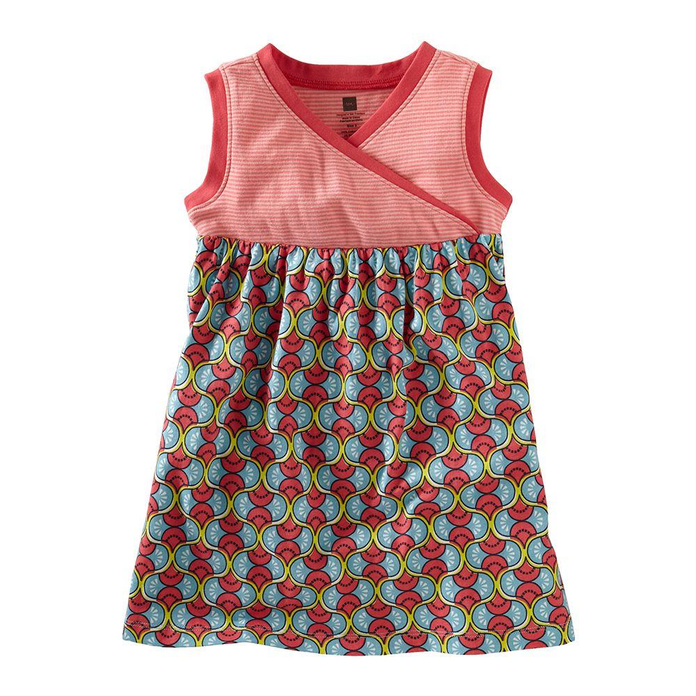 Domba Wrap-Neck Tank Dress