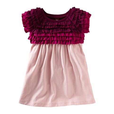 Rosebud Ruffled Mini Dress
