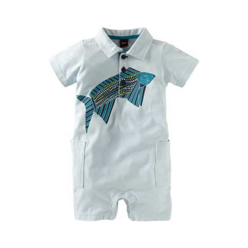 Venda Fish Polo Romper