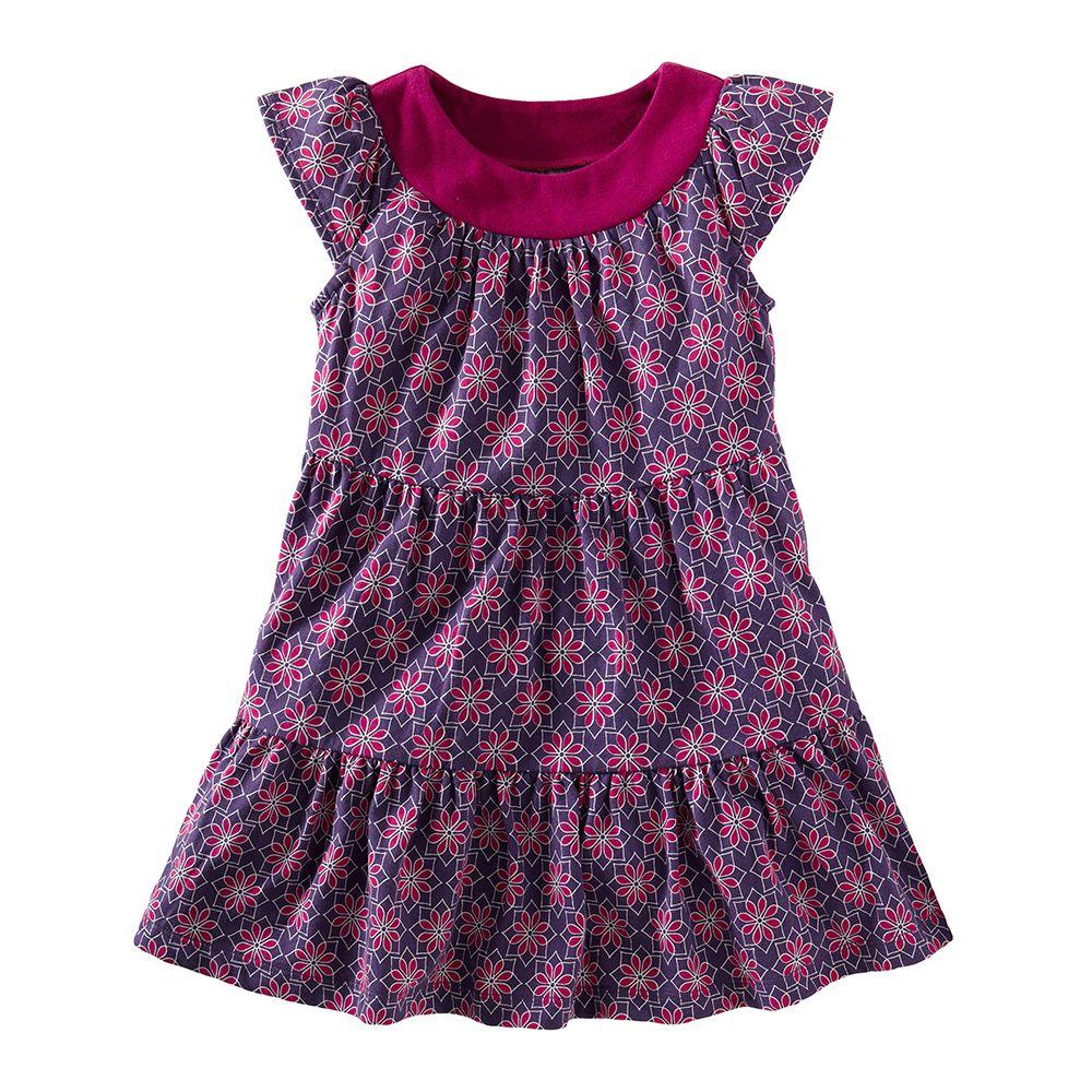 Jewel Floral Twirl Mini Dress