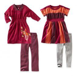 Girls Dresses and Leggings