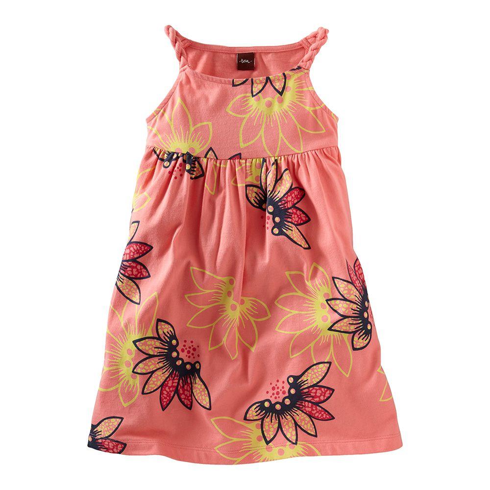Tidepool Twist Strap Dress