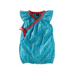 Ocean Jewel Wrap Romper