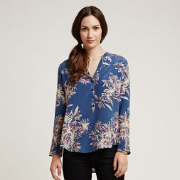 Autumn Leaves Silk Tunic