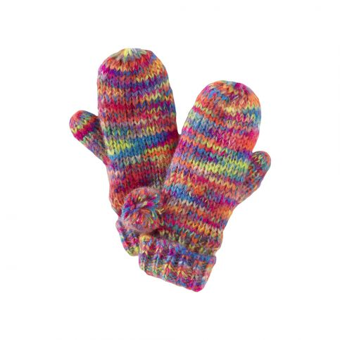 Le Big Neon Mittens | Tea Collection