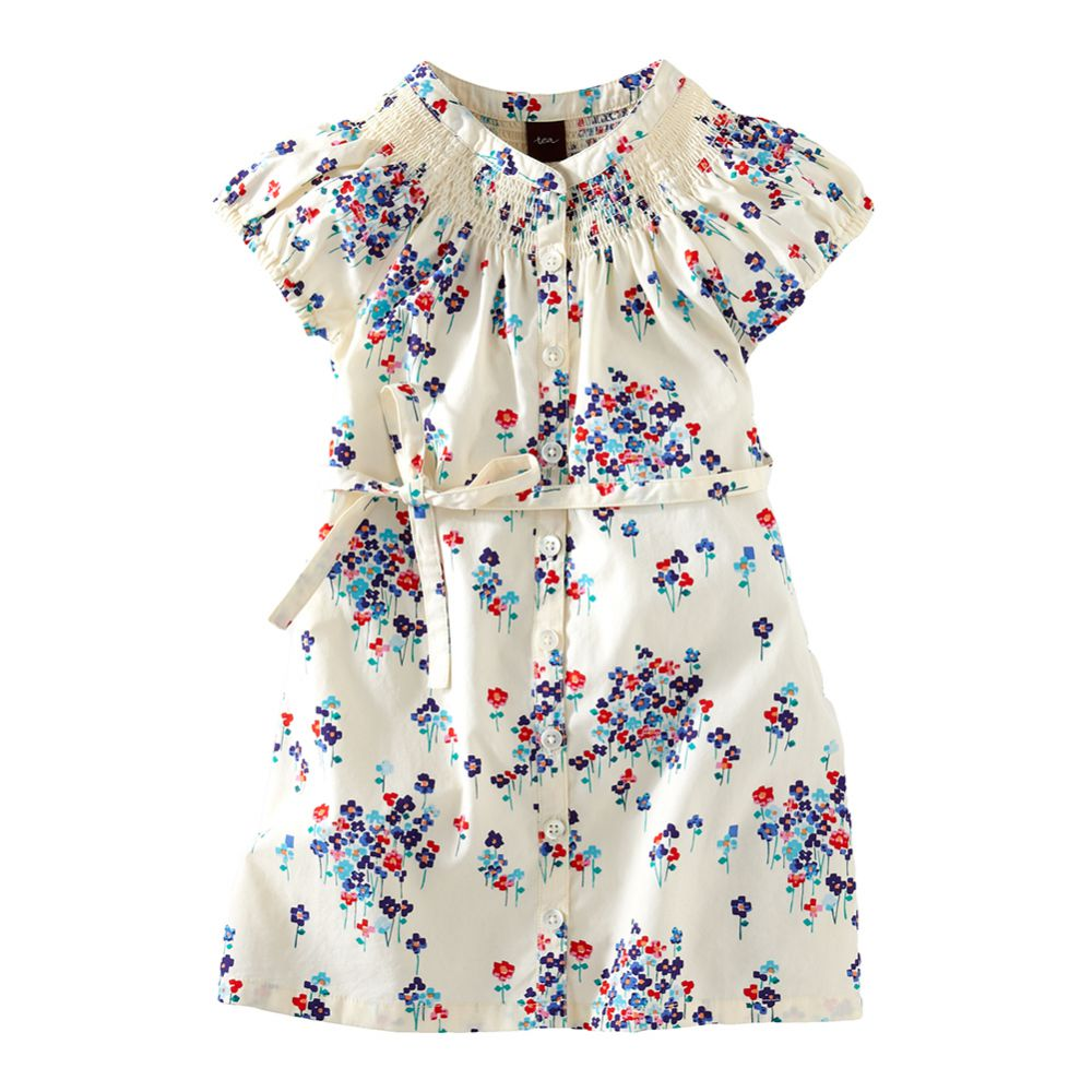 Tea Collection Field of Flowers Shirtdress