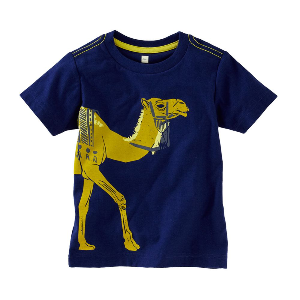 Tea Collection Dromedary Graphic Tee