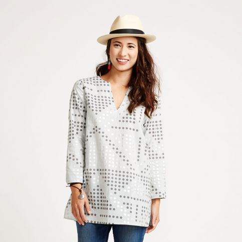 Moroccan Dot Tunic