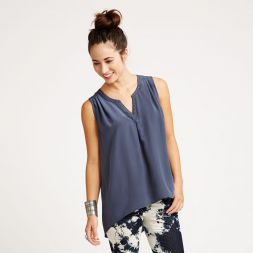 Embroidered Kasbah Silk Tank