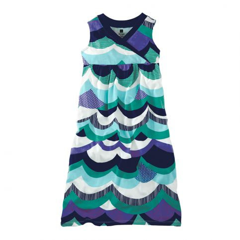 Coastal Waves Maxi Dress