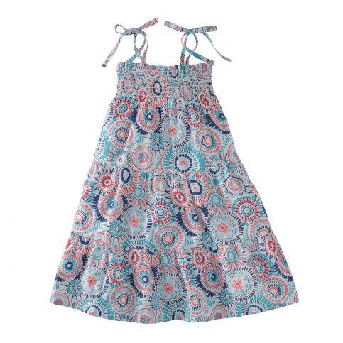Sea Anemone Shoulder Tie Dress