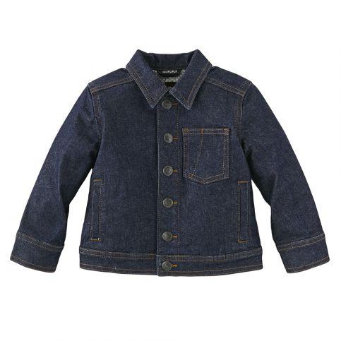 Dunkelblau Boys Denim Jacket