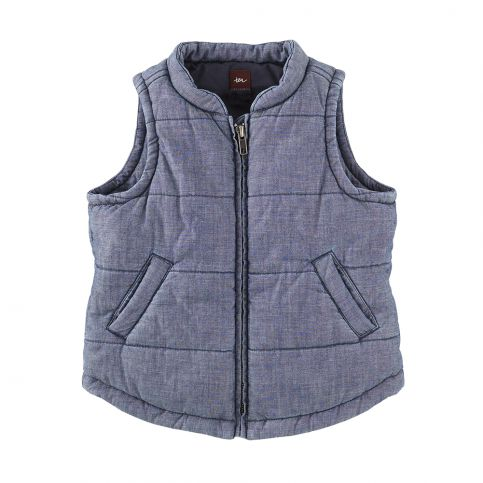 Ostsee Chambray Quilted Vest