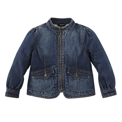 Dunkelblau Girls Denim Jacket