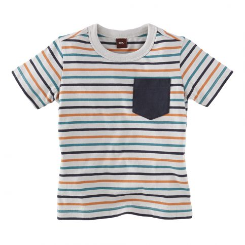 Elbe Stripe Pocket Tee
