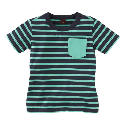Autobahn Stripe Pocket Tee
