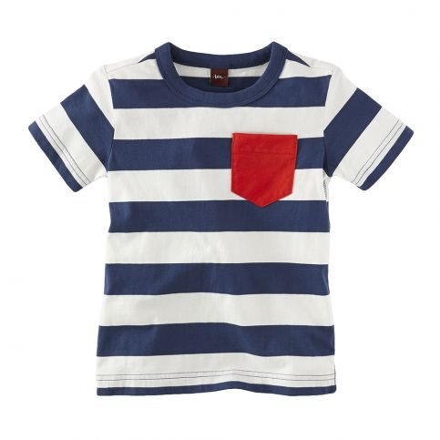 Maritime Stripe Pocket Tee